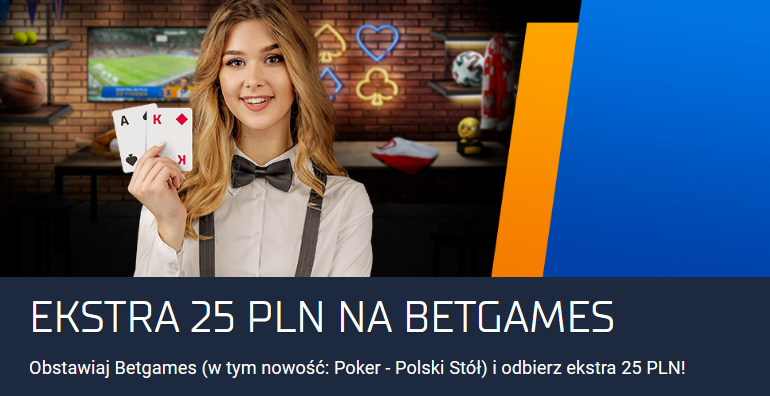 Promocja na Betgames - STS opinie